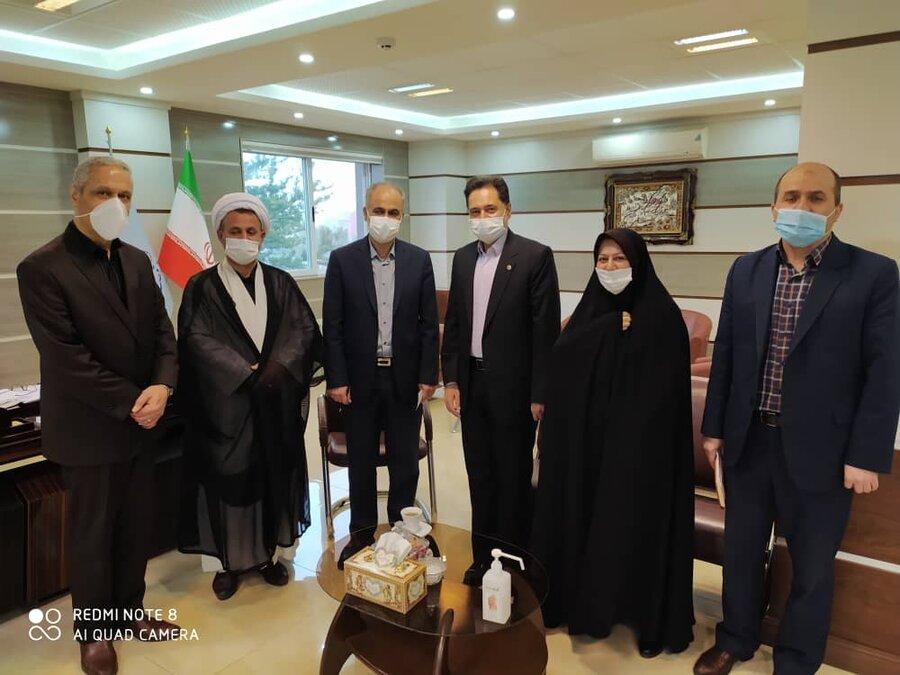 نشست دکتر حسین نحوی نژاد با دادستان عمومی و انقلاب استان گیلان