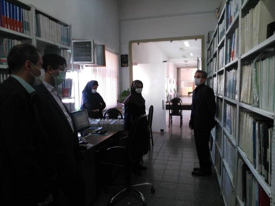 بازدید مدیرکل بهزیستی از مجتمع نابینایان رودکی