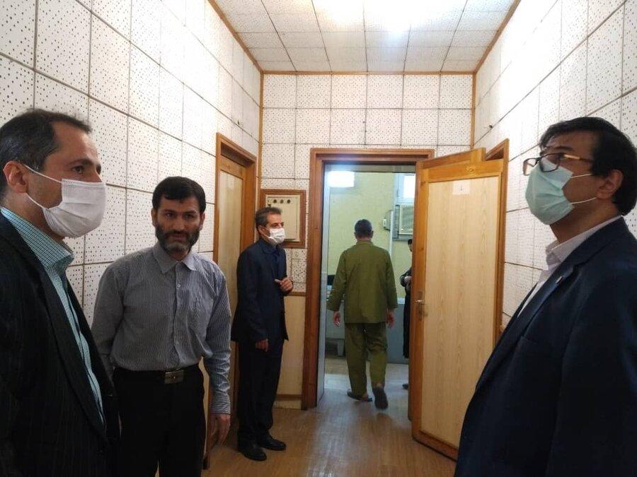 مدیرکل بهزیستی استان تهران ازمجتمع نابینایان رودکی بازدید کرد