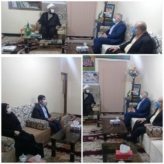 بندر خمیر | دیدار مدیرکل بهزیستی هرمزگان با امام جمعه شهرستان بندرخمیر
