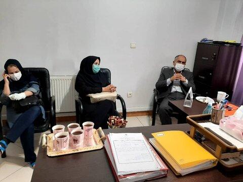 بازدید معاونت توانبخشی از مراکز شهریار