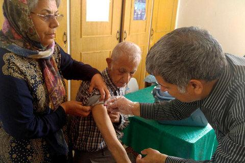 کلیه مددجویان مراکز شبانه روزی بهزیستی واکسن آنفولانزا دریافت کردند