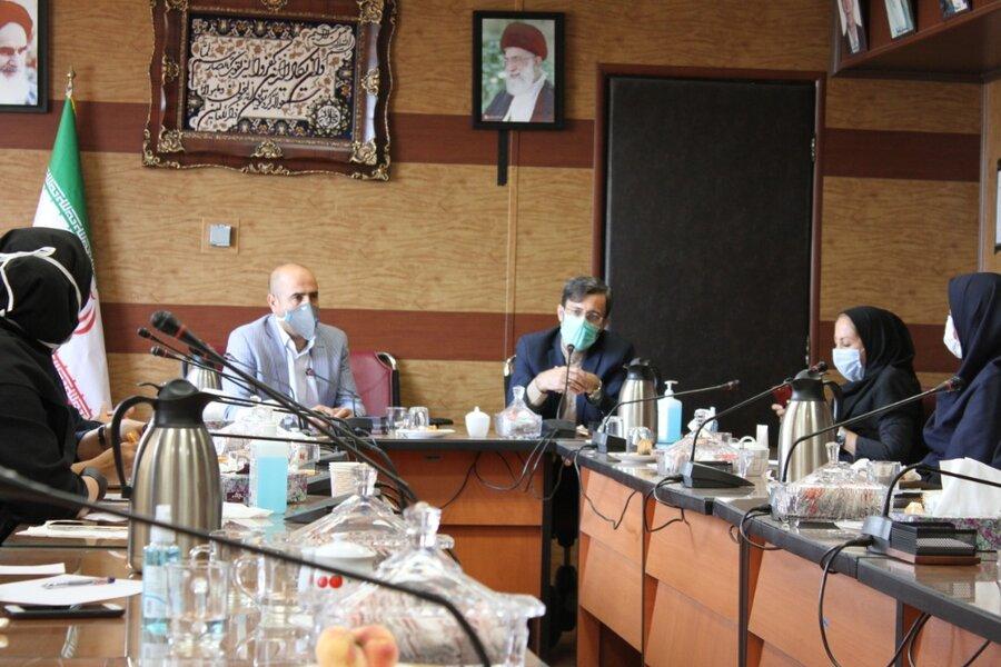 نشست بررسی موانع جذب تسهیلات اشتغالزایی در استان تهران
