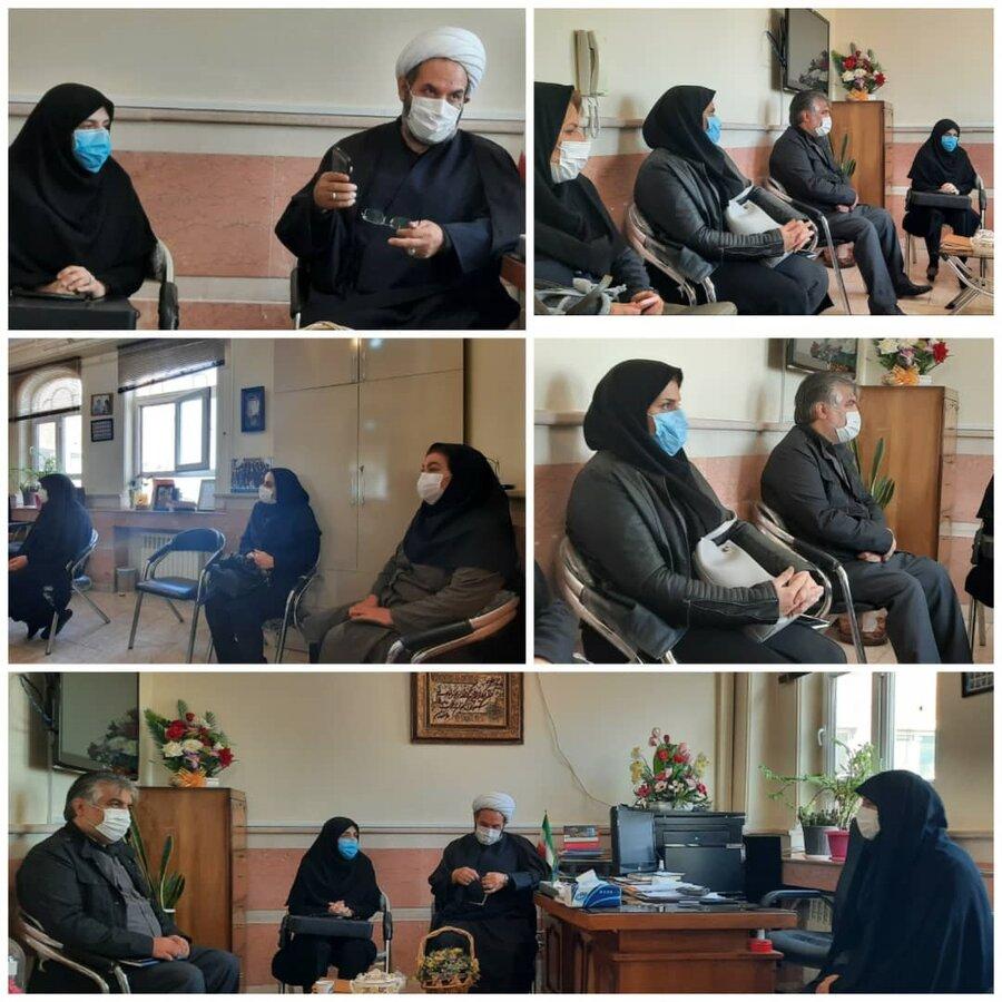 حضور مدیرکل بهزیستی آذربایجان شرقی در شیرخوارگاه تبریز