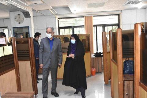 حضور معاون امور توسعه پیشگیری بهزیستی کشور در مشهد
