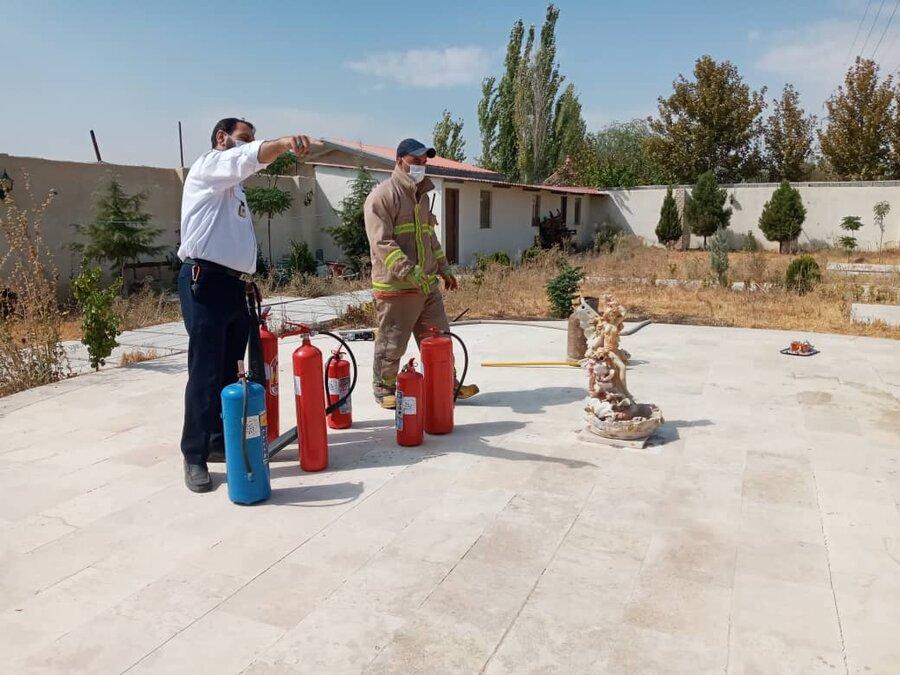 ملارد|برگزاری دوره های آموزشی اطفا حریق در مراکز غیردولتی