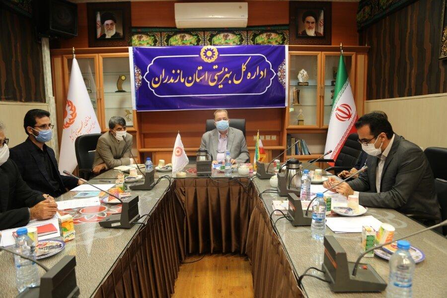 جلسه کمیته استانی هماهنگی مرکز نگهداری درمان و کاهش آسیب معتادان موضوع ماده ۱۶ برگزار شد