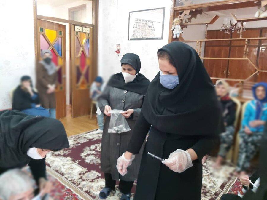 استفاده ۷۹۱ دوز واکسن در طرح واکسیناسیون آنفولانزا در مراکز شبانه روزی بهزیستی استان سمنان