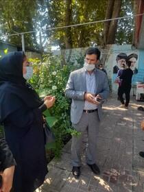 بازدید معاون توسعه پیشگیری بهزیستی البرز از روند اجرای طرح ساماندهی معتادین متجاهر