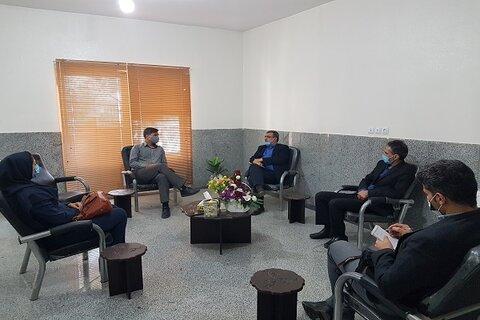 شاهین شهر و میمه  نشست هم اندیشی رئیس سازمان فرهنگی اجتماعی ورزشی شهرداری با سرپرست اداره بهزیستی
