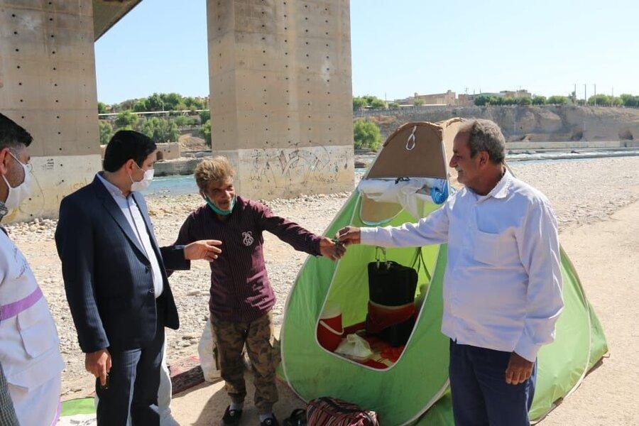 در رسانه|خانواده بیپناه در دزفول ساماندهی شد
