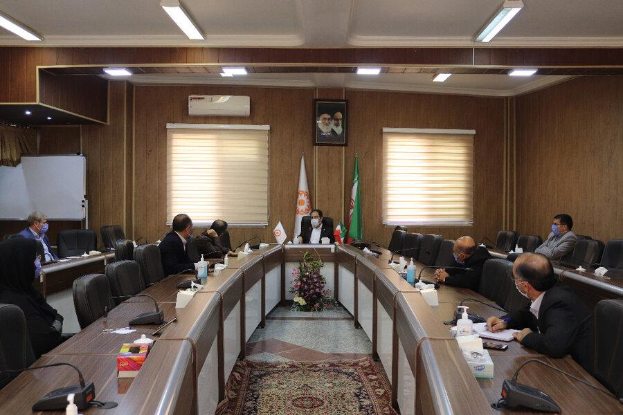 برگزاری جلسه مدیریت بحران بهزیستی آذربایجان غربی