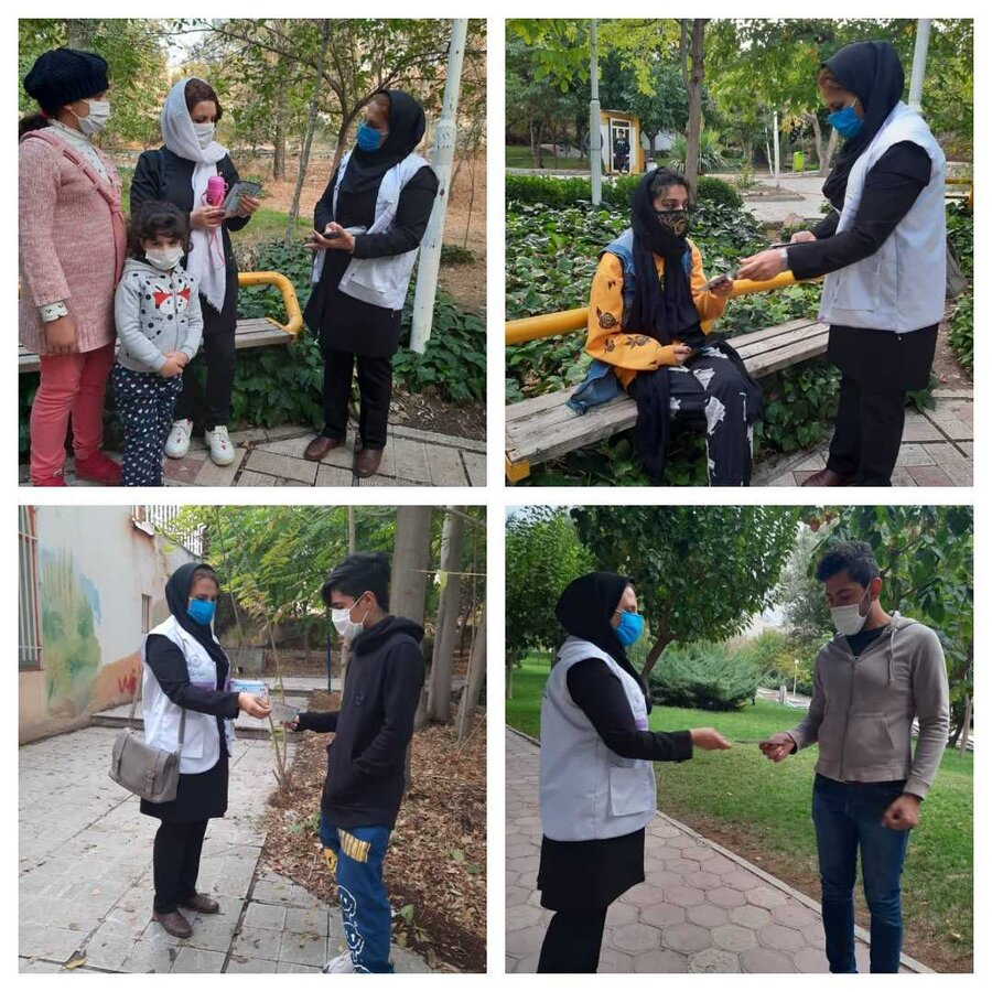 ساوجبلاغ | استقرار تیم اورژانس اجتماعی در سطح شهرستان ساوجبلاغ