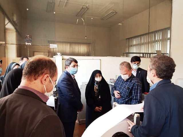 بازدید رییس کتابخانه ملی از «مرکز امور توانبخشی نابینایان و کم بینایان رودکی»