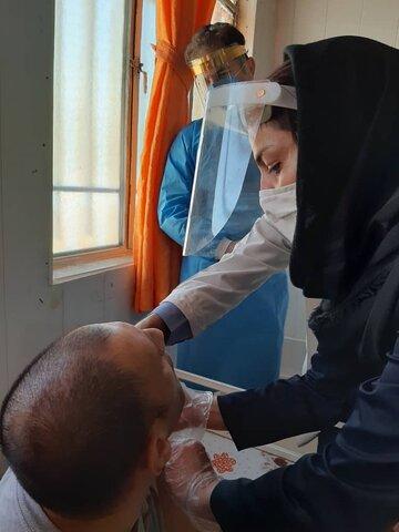 تزریق واکسن آنفولانزا -بهزیستی شهرستان دماوند