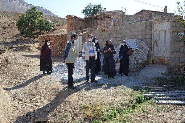 چادگان| اولین اردوی جهادی با هدف خدمت رسانی و محرومیت زدایی در چادگان برگزار شد