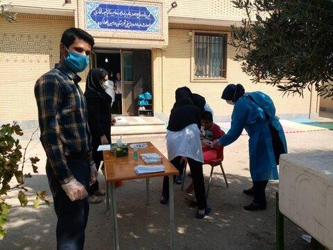 تزریق واکسن انفولانزا-شهرستان ورامین