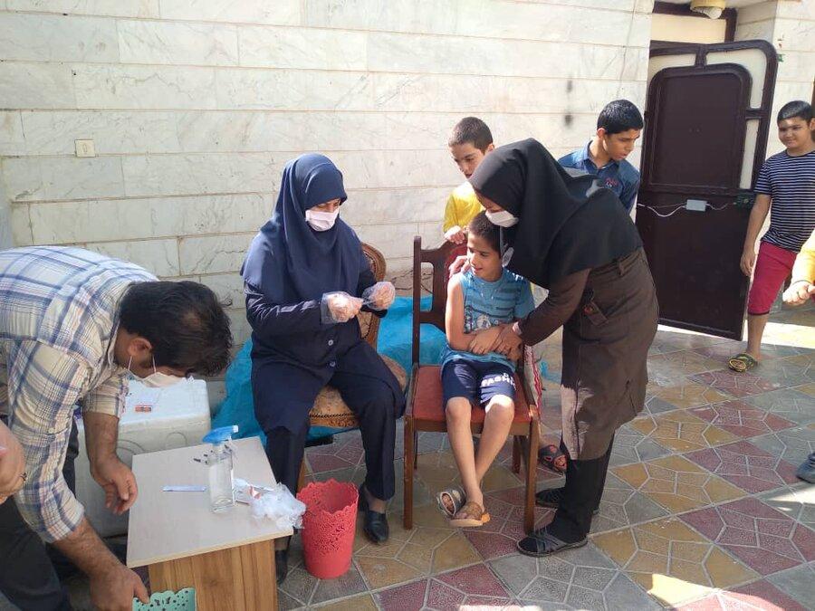 ورامین| واکسیناسیون آنفولانزا در مراکز اقامتی شهرستان انجام شد
