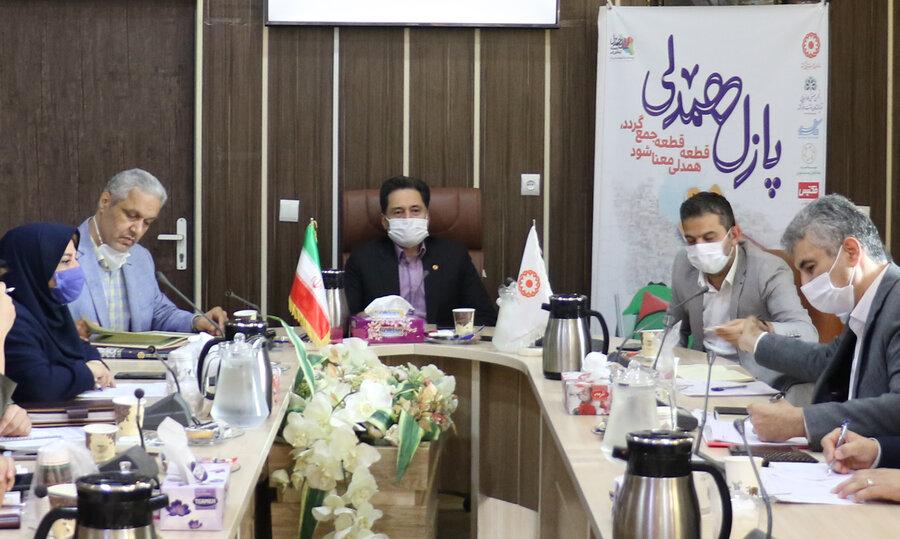 بیست و سومین نشست شورای معاونین در بهزیستی گیلان برگزار شد