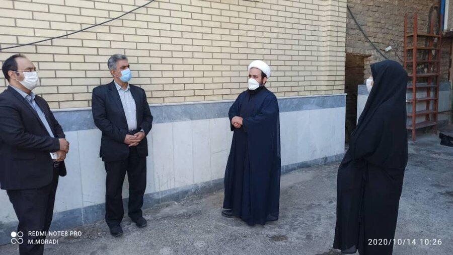 گرمسار   بازدید از منطقه کم برخوردار شهید صدوقی