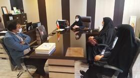 بازدید مسول وکارشناسان روابط عمومی شرکت آب وفاضلاب از مراکز بهزیستی
