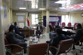 گزارش تصویری| نشست هم اندیشی و بازدید مدیرکل بهزیستی استان مدیر بیمارستان بعثت