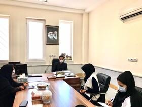 دیر| به مناسبت هفته تربیت بدنی کارکنان اورژانس اجتماعی بهزیستی دیر با رئیس اداره ورزش و جوانان این شهرستان دیدار کردند
