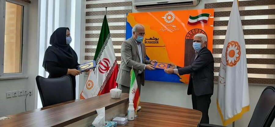 تقدیر مدیر کل بهزیستی استان بوشهر از فعالین حوزه سلامت روان