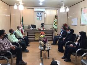 دیر|دیدار رئیس و کارکنان بهزیستی با فرماندهی نیروی انتظامی به مناسبت هفته ناجا