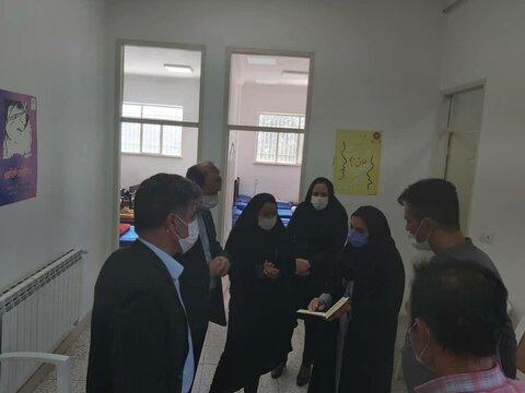 گزارش تصویری | بازدید مدیرکل بهزیستی استان زنجان از مرکزسرپناه معتادین ( شلتر)