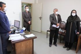دیدار مدیرکل بهزیستی استان با کارکنان شاغل در ستاد بهزیستی