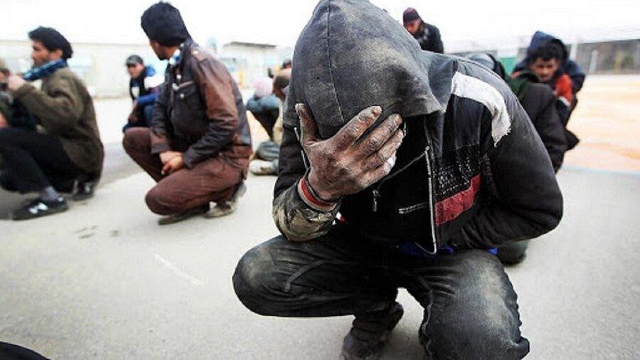 درمان ۱۲۰۰ معتاد متجاهر در کرمان