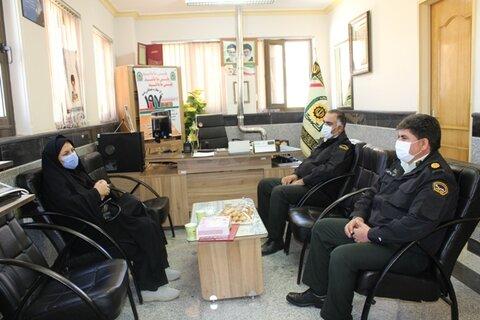 سمیرم  دیدار با فرمانده نیروی انتظامی