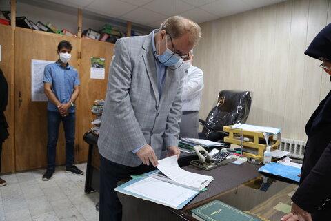 حضور مدیر کل بهزیستی استان در جویبار
