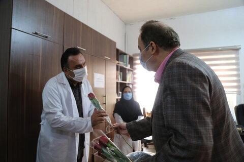 گزارش تصویری   تقدیر مدیر کل بهزیستی مازندران از کاردرمانگران مرکز توانبخشی شهید فیاض بخش