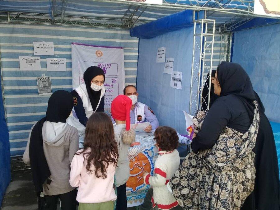 شهرقدس|شرکت فعالانه اورژانس اجتماعی در طرح جهادی