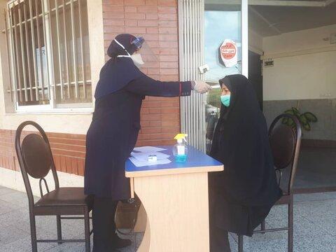 گزارش تصویری | غربالگری سلامت پرسنل اداره بهزیستی شهرستان سمنان