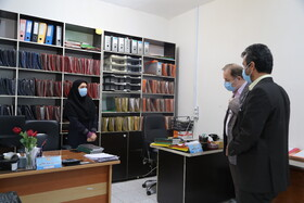 گزارش تصویری | بهشهر | بازدید مدیر کل بهزیستی استان مازندران از اداره بهزیستی و اورژانس اجتماعی شهرستان بهشهر
