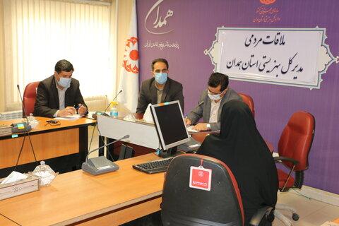 گزارش تصویری  ملاقات مردمی مدیر کل بهزیستی استان