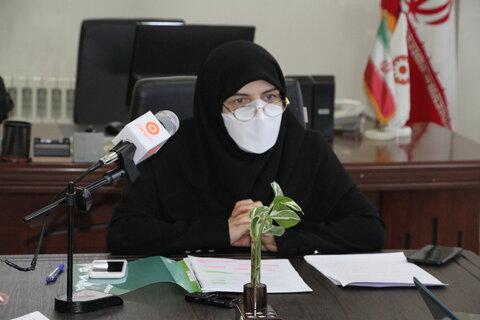 گزارش تصویری| نشست خبری مدیر کل بهزیستی آذربایجان شرقی