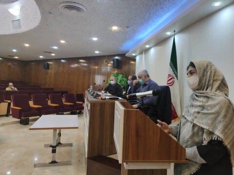 برگزاری جلسه فرهنگی پیشگیری ستاد مبارزه با مواد مخدر بهزیستی استان تهران