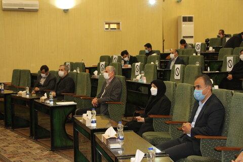 گزارش تصویری| نشست ستاد عالی هماهنگی مناسب سازی آذربایجان شرقی