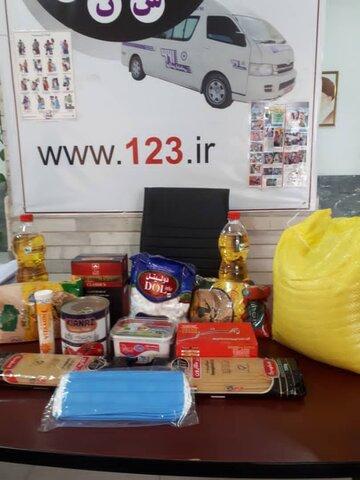 پاکدشت|کارکنان اورژانس اجتماعی میان مددجویان بسته های حمایتی توزیع کردند