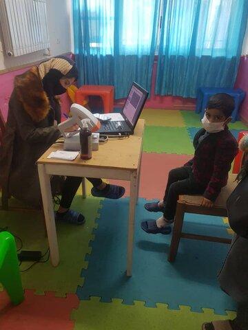 ملارد|ادامه روند طرح پیشگیری از تنبلی چشم کودکان