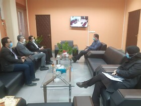 نشست مدیرکل بهزیستی گیلان با مدیرکل راه و شهرسازی استان