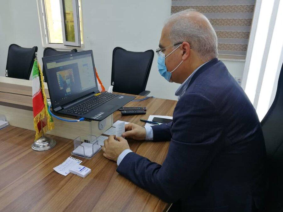 سومین جلسه شورای اداری اداره کل بهزیستی استان برگزار شد