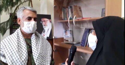 گزارش برنامههای هفته بسیج در استان اصفهان