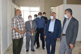 بازدید مسئولین استان از مرکز جامع درمان اعتیاد
