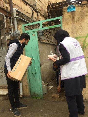 پاکدشت|اورژانس اجتماعی بسته های بهداشتی و غذایی توزیع کرد