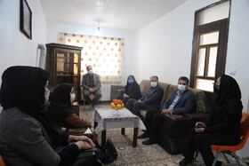 بازدید مدیر کل بهزیستی مازندران از مرکز خانه امن